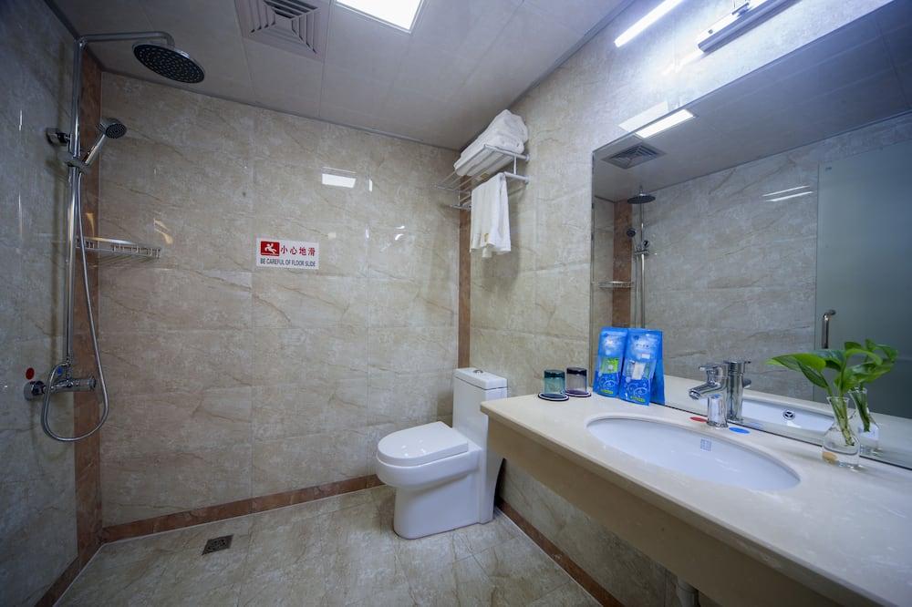 חדר דה-לוקס טווין - חדר רחצה
