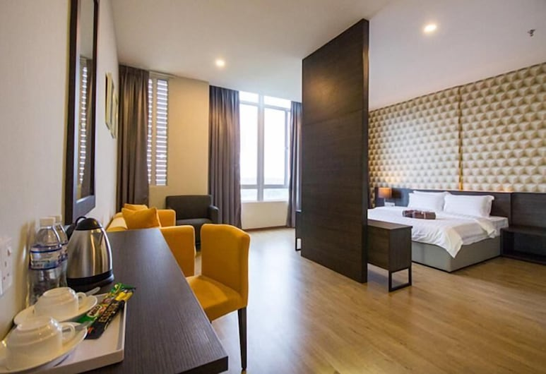 OMG Hotel, Simpang Ampat, Prezidentinės klasės numeris, sūkurinė vonia, Svečių kambarys