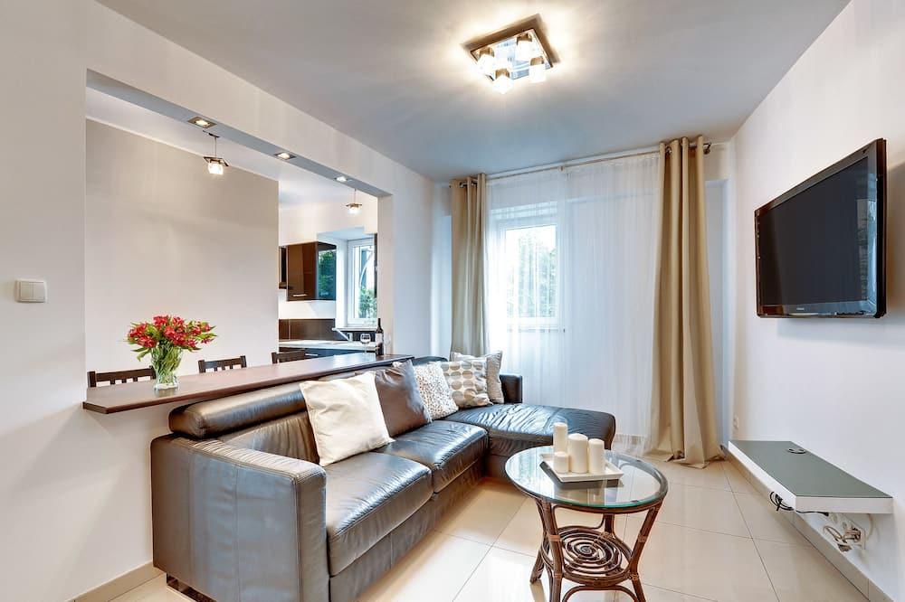 Apartment, 1 Bedroom (loggia) - Living Room