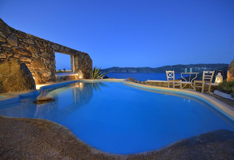 Aiolos Villas, Mykonos, Villa (Aiolos IV), Terrasse/patio