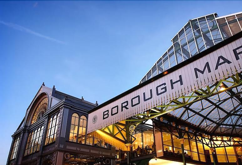 Borough Market Apartments, London, Front of property