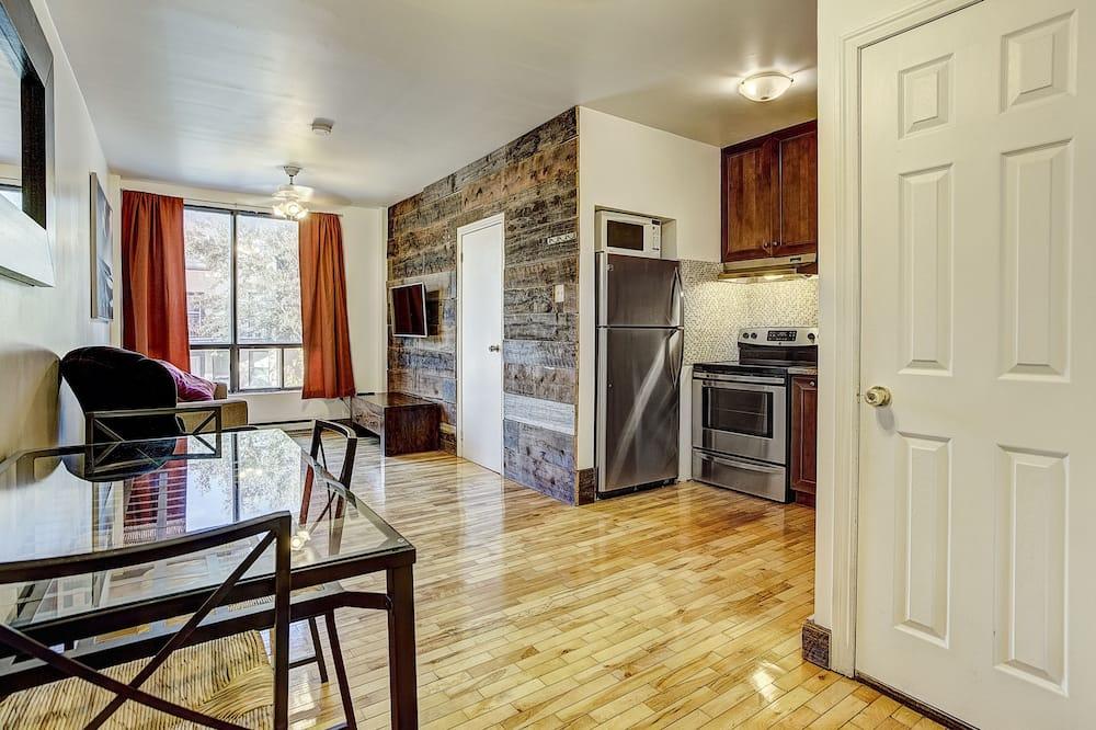 Apartmán typu City, dvojlůžko (180 cm) - Obývací pokoj