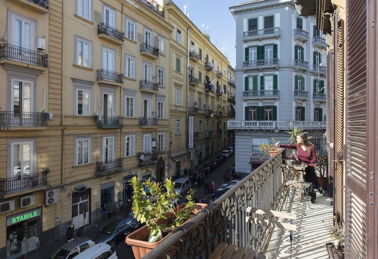 A Durmi, Naples, Terrasse/Patio