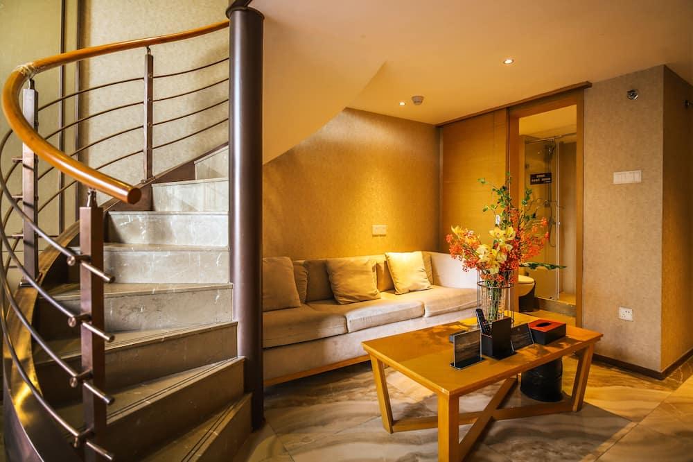 Dúplex Deluxe, 1 habitación, balcón, Mezzanine - Habitación