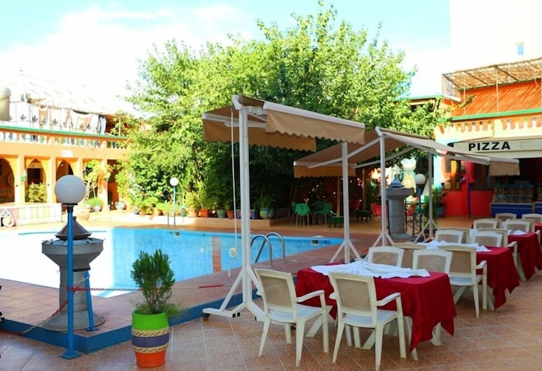 Hotel Espace Tifawine, Tafraout, Restaurante familiar