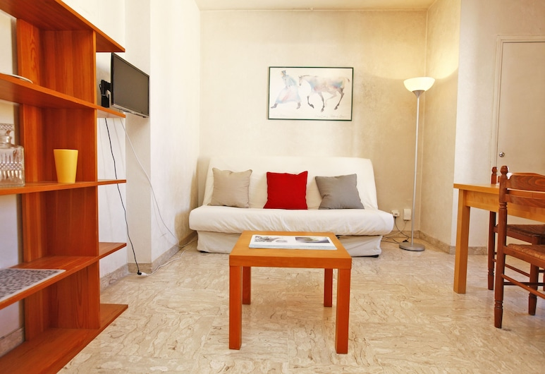 Large studio dowtown in Nice near tramway, Nizza, Studio, Wohnbereich