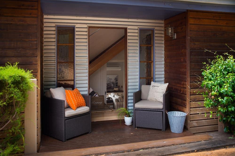 Hus - 2 soveværelser - Terrasse/patio