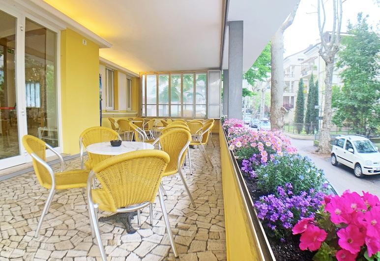 Hotel Alabama, Rimini, Teres/Laman Dalam