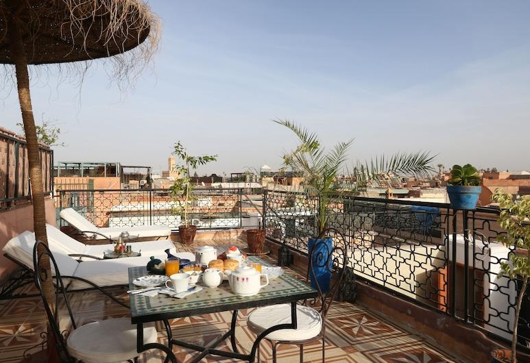 梅森庭院旅館, 馬拉喀什, 陽台