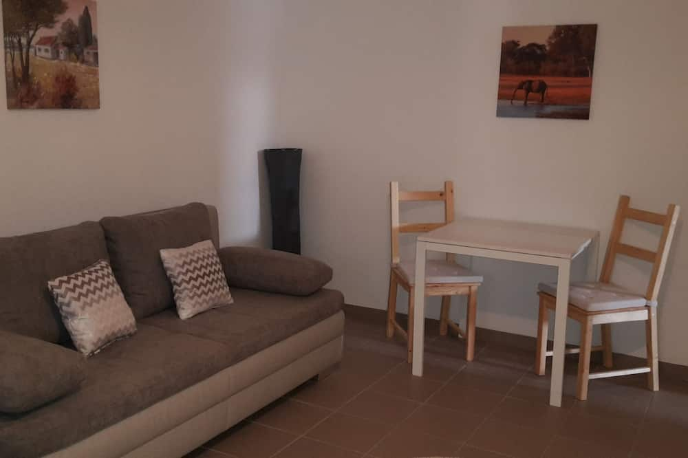 Standard Double Room, Private Bathroom - Living Area