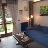 شقة بانوراما - غرفة نوم واحدة - منظر للجبل - غرفة معيشة