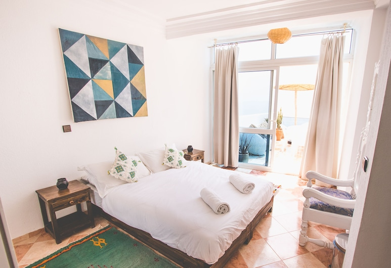 Surf Maroc Taghazout Apartments, טגזוט, פנטהאוז, 2 חדרי שינה, פונה לים, חדר