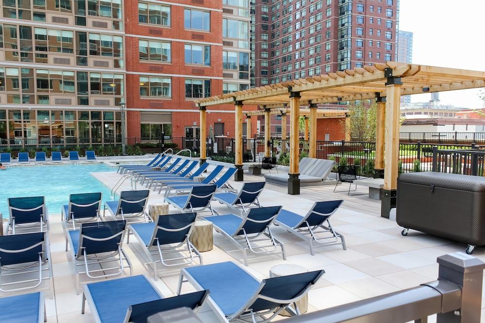 Washington Street Apartments At Marbella, Jersey City, Pool