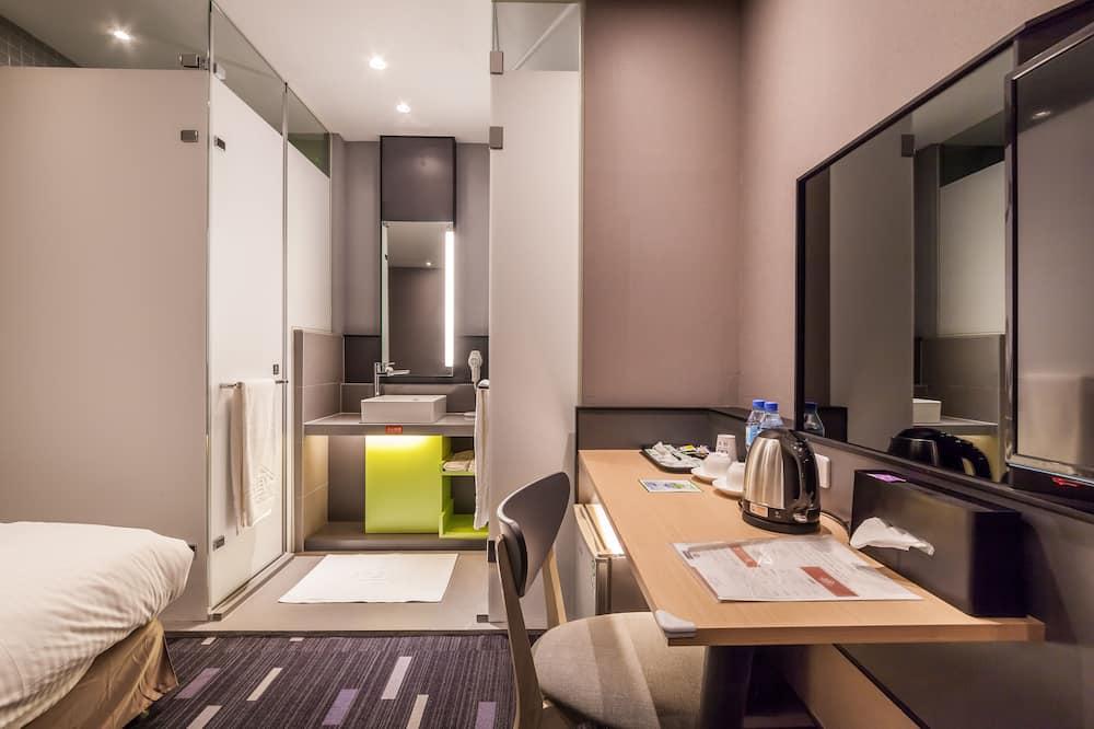 Habitación empresarial con 2 camas individuales, sin ventanas - Baño