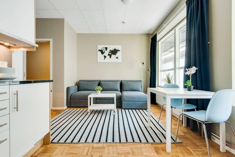 Apartamento, 1 habitación, cocina básica - Imagen destacada