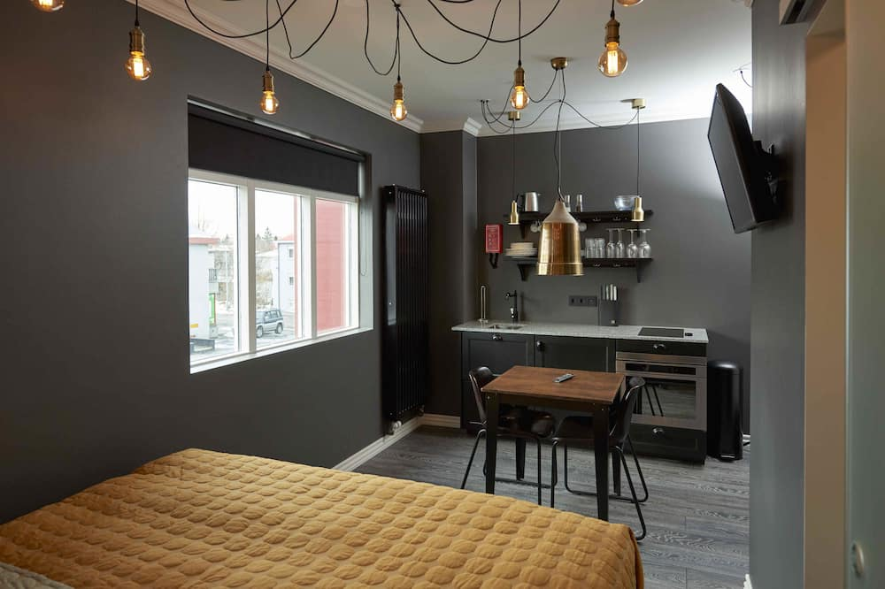 Studio - Restauration dans la chambre