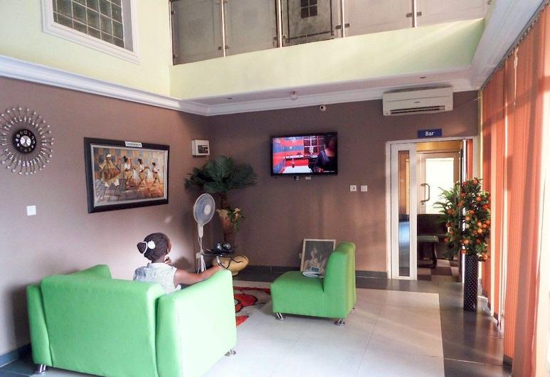 Ghatview Hotel, Lagos, Sala de estar en el lobby
