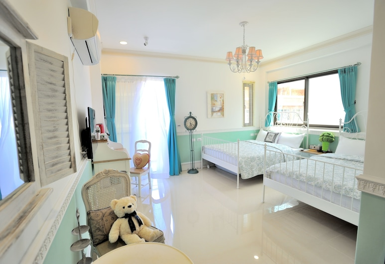 French Cottoncandy Bed and Breakfast, Ji'an, Family Double Room (Charlotte), Guest Room
