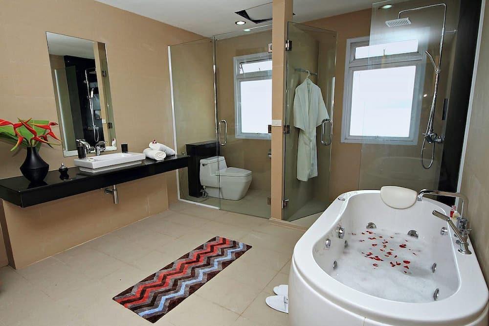 豪華客房, 1 間臥室, 海景 - 浴室
