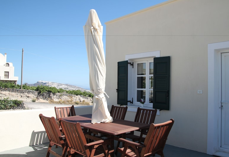 Ampelos Executive Houses, Santorini, Panoramic Apartment, Balcony, Terrace/Patio