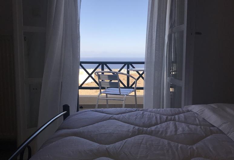 Ampelos Executive Houses, Santorini, Superior appartement, 3 slaapkamers, terras, Aan zee, Uitzicht vanaf kamer