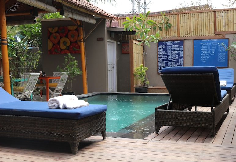 The Lakshmi Villas, Gili Trawangan, Piscine en plein air