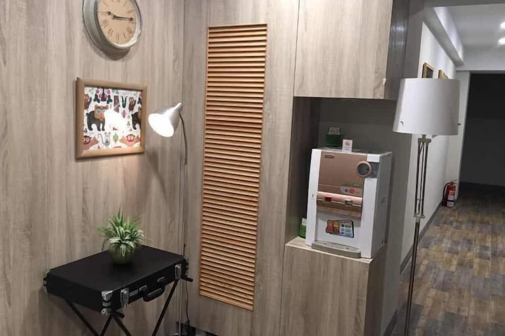 Panorāmas vienvietīgs numurs, 1 vienguļamā gulta - Dzīvojamā zona