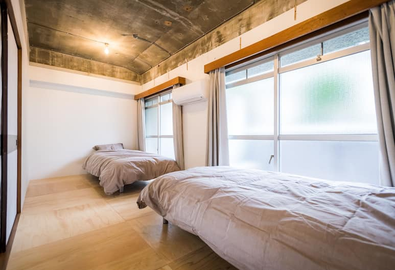 Shibamata FU-TEN Bed and Local, Tokyo, Twin Room with Private Shower Room, Guest Room