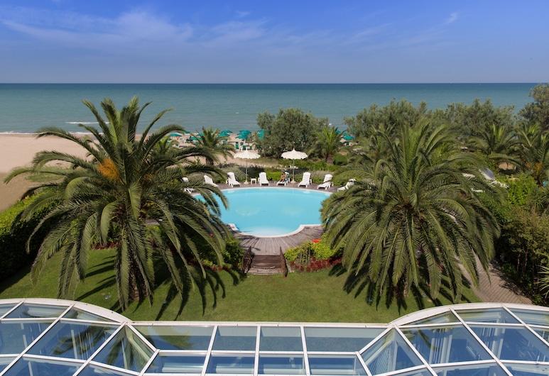 Hotel Ambasciatori, Пінето, Двомісний номер, з видом на море (3 pax), Балкон