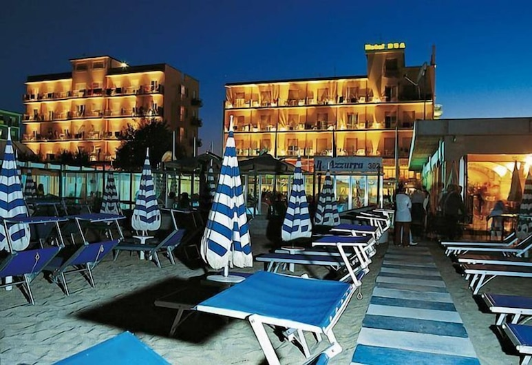 Mayflower Beach Hotel, Cervia, Playa