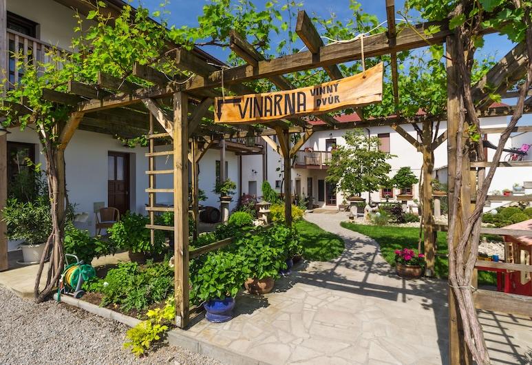 Hotel Bonsai Mikulov, Mikulov, Terrasse/veranda