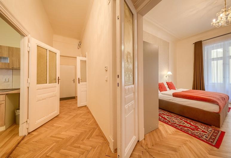 Apartments 39 Wenceslas Square, Praga, Apartamento, 3 quartos, Quarto