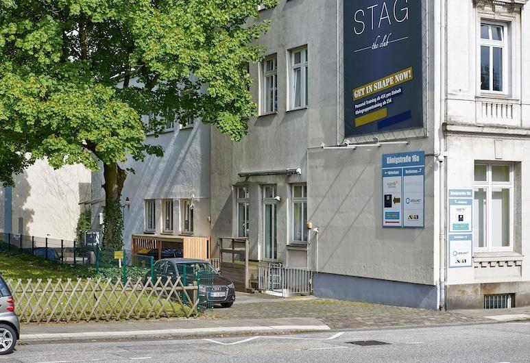 Pauli Hostel, Hamburg, View from Hotel