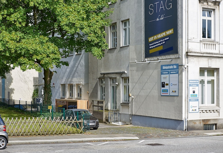 Pauli Hostel, Hamburgo, Vista a partir do Hotel