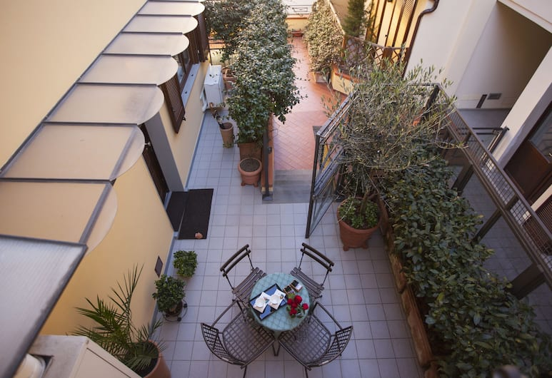 ذا جولدن هاوس فلورينس سويت, فلورنس, شقة، غرفة نوم واحدة, تِراس/ فناء مرصوف