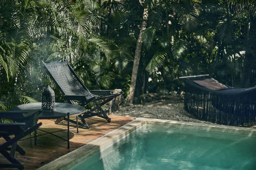 Deluxe-Doppelzimmer, eigener Pool - Privatpool