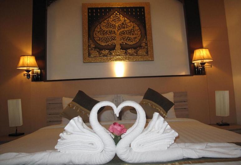 QG Resort, Bangkok, Pokój dwuosobowy typu Deluxe, Łóżko king, Pokój