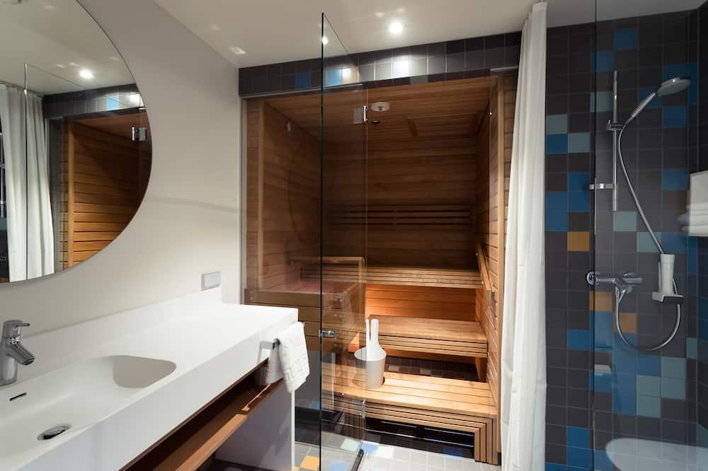 Superior Room, Sauna - Bathroom