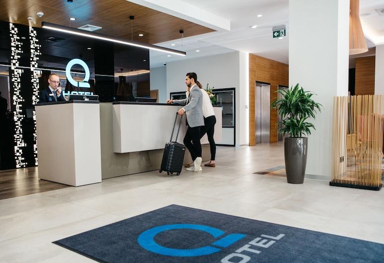 Q Hotel Plus Katowice, Katowice, Receção