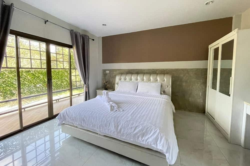 Номер «Делюкс», 1 двуспальная кровать «Кинг-сайз», для некурящих - Зона гостиной
