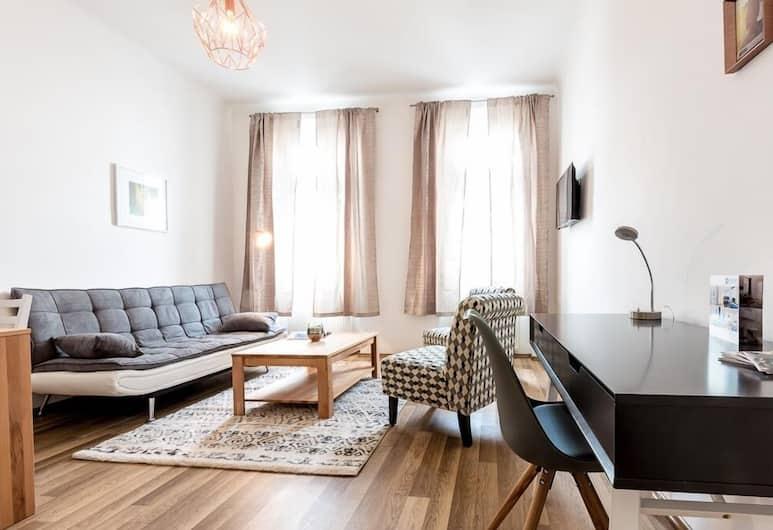 Holiday & Business Apartments Vienna, Viedeň, Apartmán, 2 spálne (Spacious), Obývačka