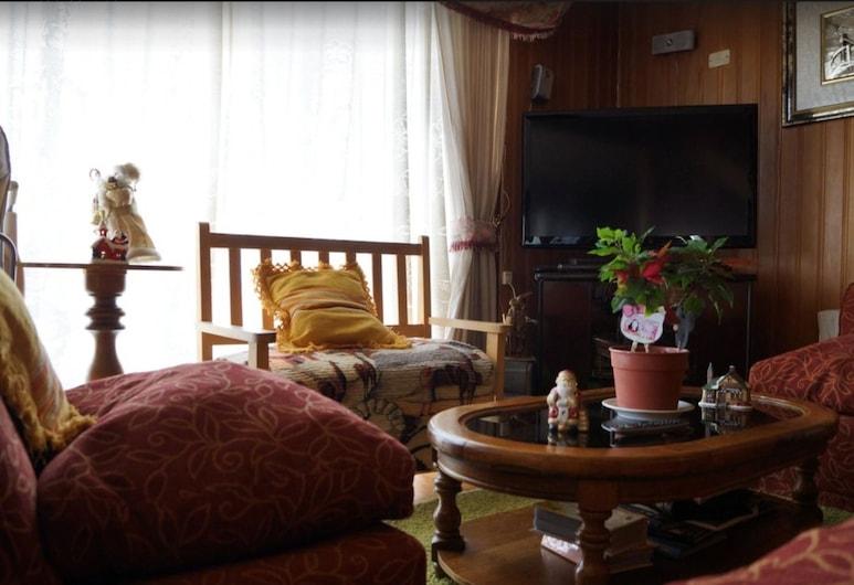 Casa Chilhué, קסטרו, אזור ישיבה בלובי