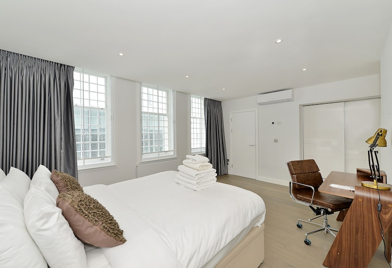 The Leicester Square Collection, London, Luxury Apartment, 1 Bedroom, Balcony, City View, Room