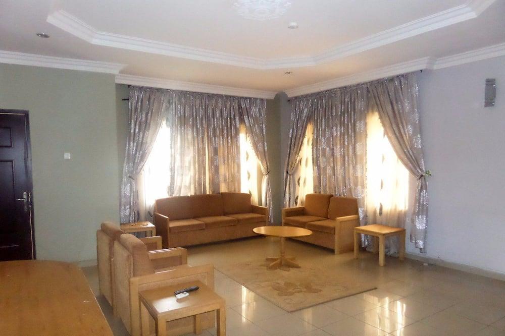 Executive-værelse - 1 kingsize-seng - Opholdsområde