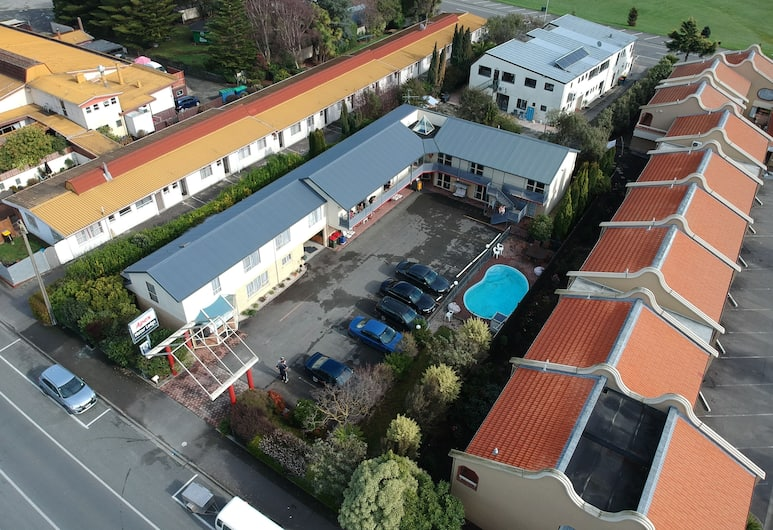 Apex Motor Lodge, Nelson, Aerial View