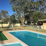 Double or Twin Room, Multiple Beds, Poolside - Terrace/Patio