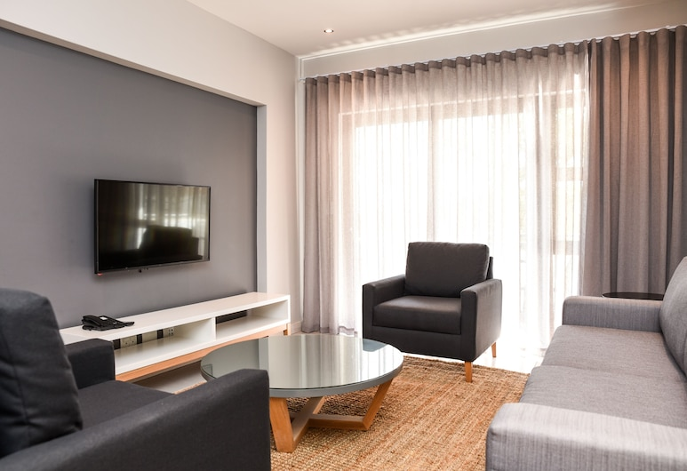 The Residency Jellicoe, Johannesburg, Lägenhet - 1 sovrum, Vardagsrum