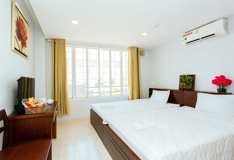 Hotel Kim Yen, Ho Chi Minh City, Deluxe Twin Room, Guest Room