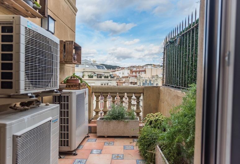 Go Barcelona Guest House, Barcelona, Twin Room, Shared Bathroom, Balcony