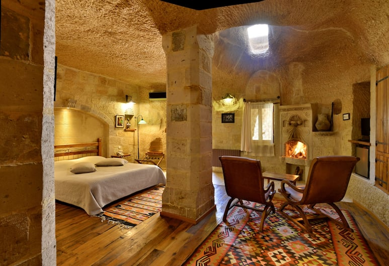 Sultan Cave Suites- Adults Only, Nevsehir, Fairy chimney Suites, Vierashuone